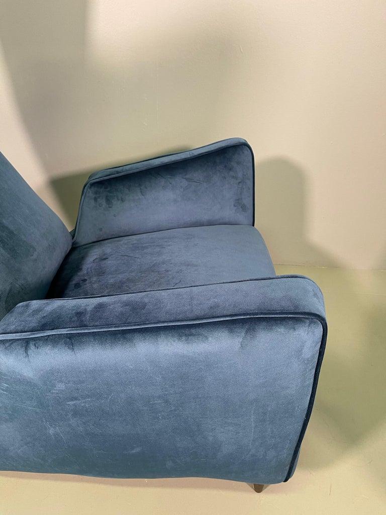 Rare Pair of Italian Armchair by Mario Oreglia For Sale 4