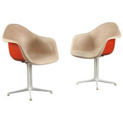 Rare Pair of La Fonda Chairs by Charles and Ray Eames