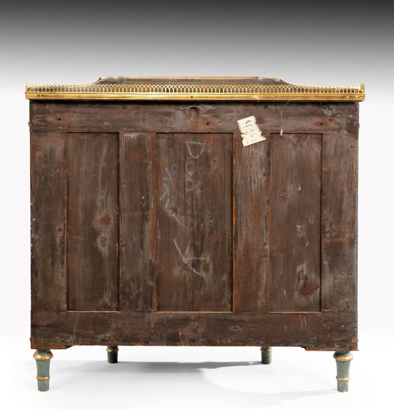 Rare Pair of Late Regency Mahogany Side Cabinets For Sale 4