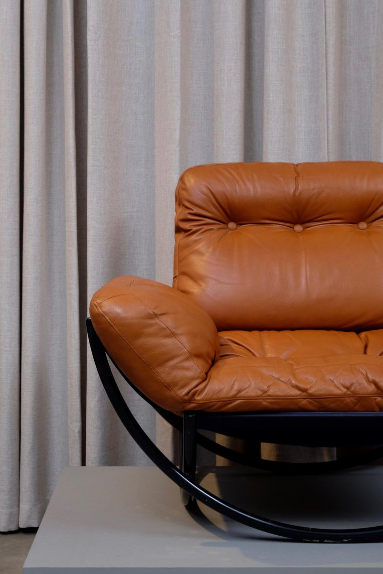 Rare Pair of Lennart Bender Easy Chairs, 1960s For Sale 3