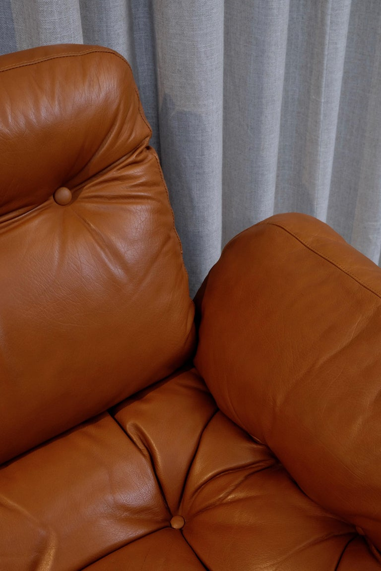 Rare Pair of Lennart Bender Easy Chairs, 1960s For Sale 2