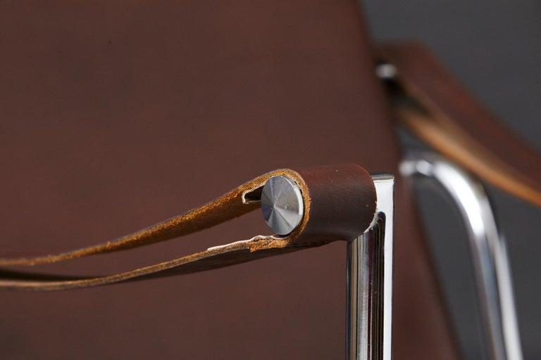 Rare Pair of Original Le Corbusier 'Corbu' Chairs 'LC1', from Wohnbedarf 1960s 6