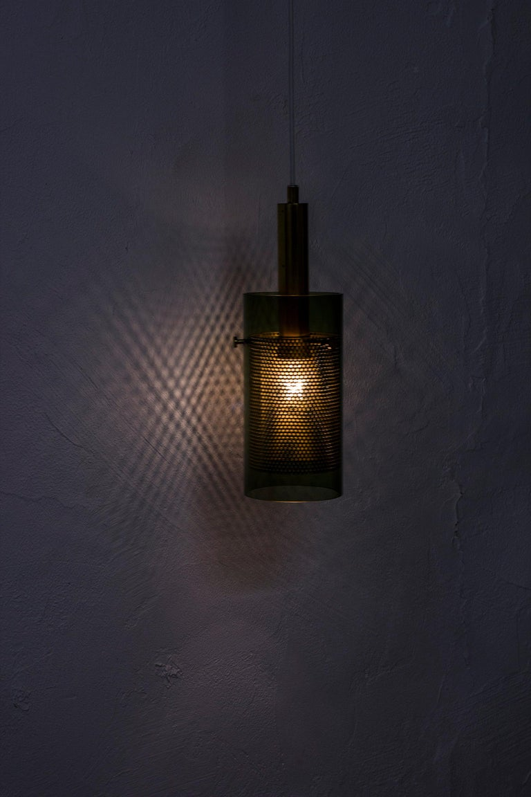 Rare Pair of Pendant Lamps by Hans Agne Jakobsson, Sweden, 1960s For Sale 3