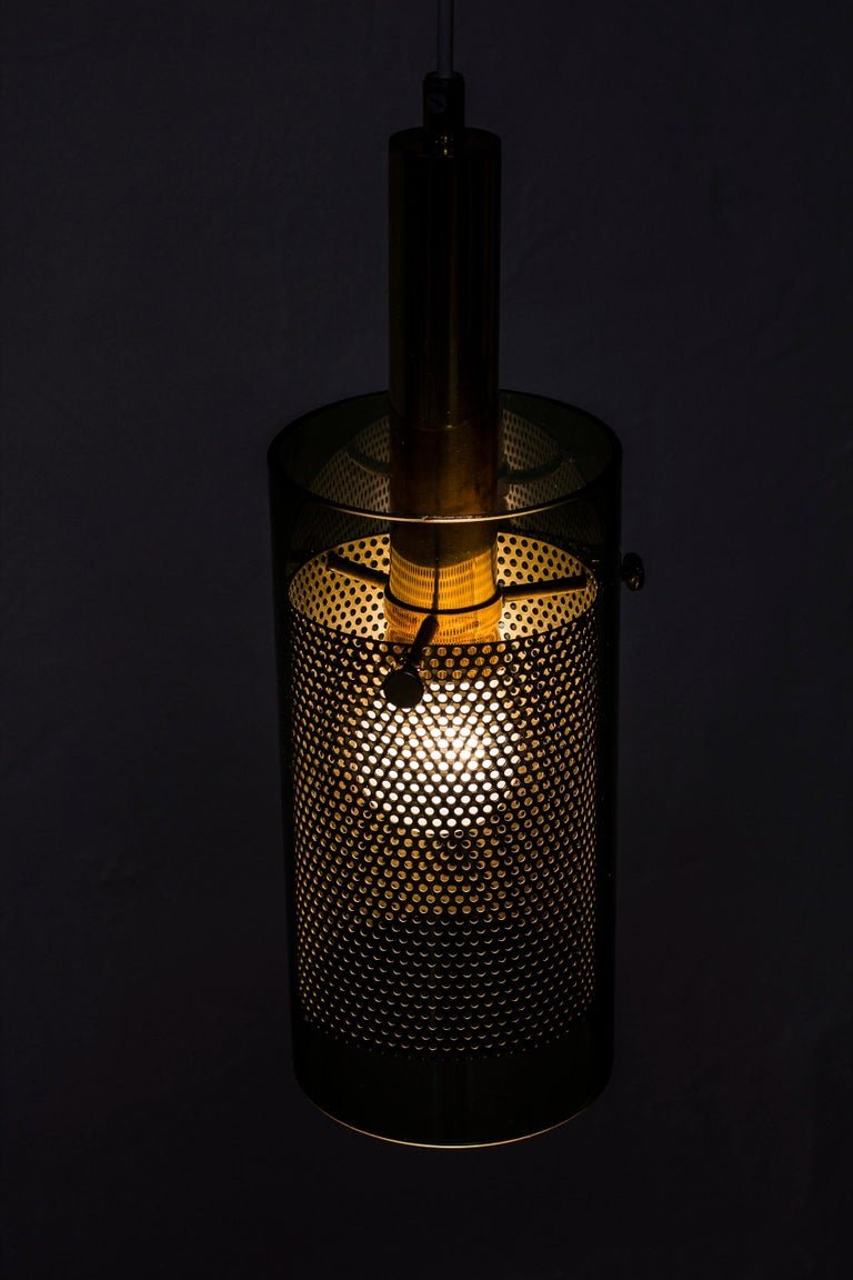Rare Pair of Pendant Lamps by Hans Agne Jakobsson, Sweden, 1960s For Sale 4