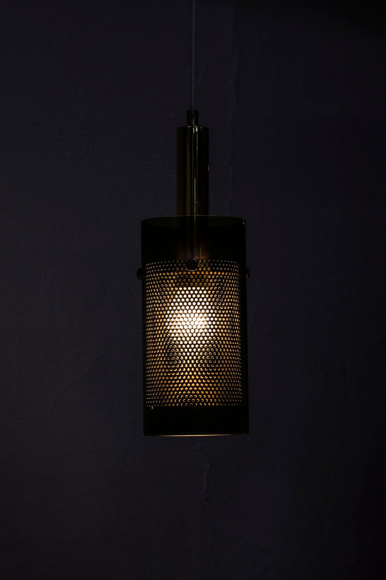 Rare Pair of Pendant Lamps by Hans Agne Jakobsson, Sweden, 1960s For Sale 5