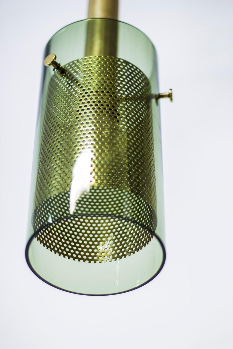 Swedish Rare Pair of Pendant Lamps by Hans Agne Jakobsson, Sweden, 1960s For Sale