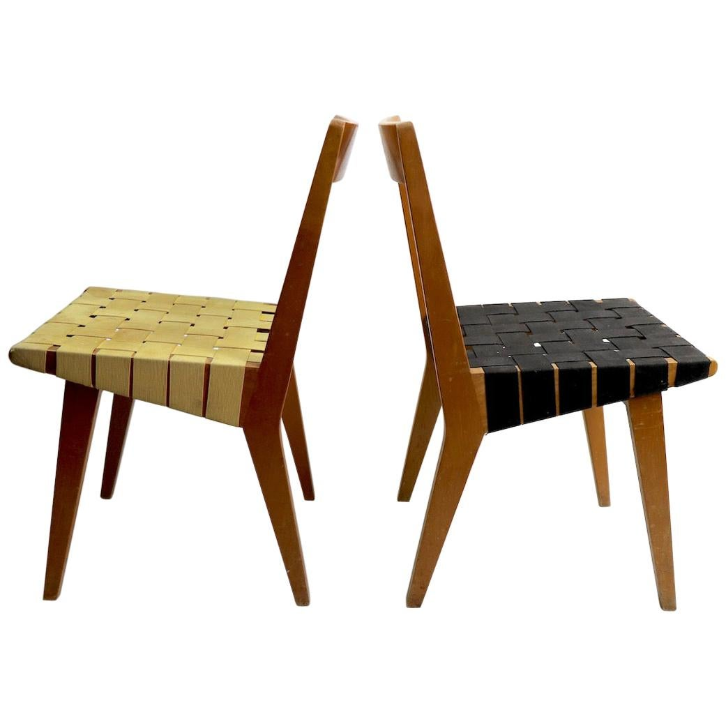 Rare Pair of Risom for Knoll 666 Chairs