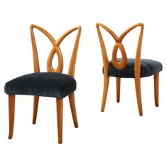 Rare Pair of Side Chairs by Osvaldo Borsani for ABV