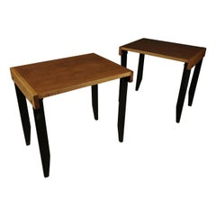 Rare Pair of Side Tables from France, circa 1960