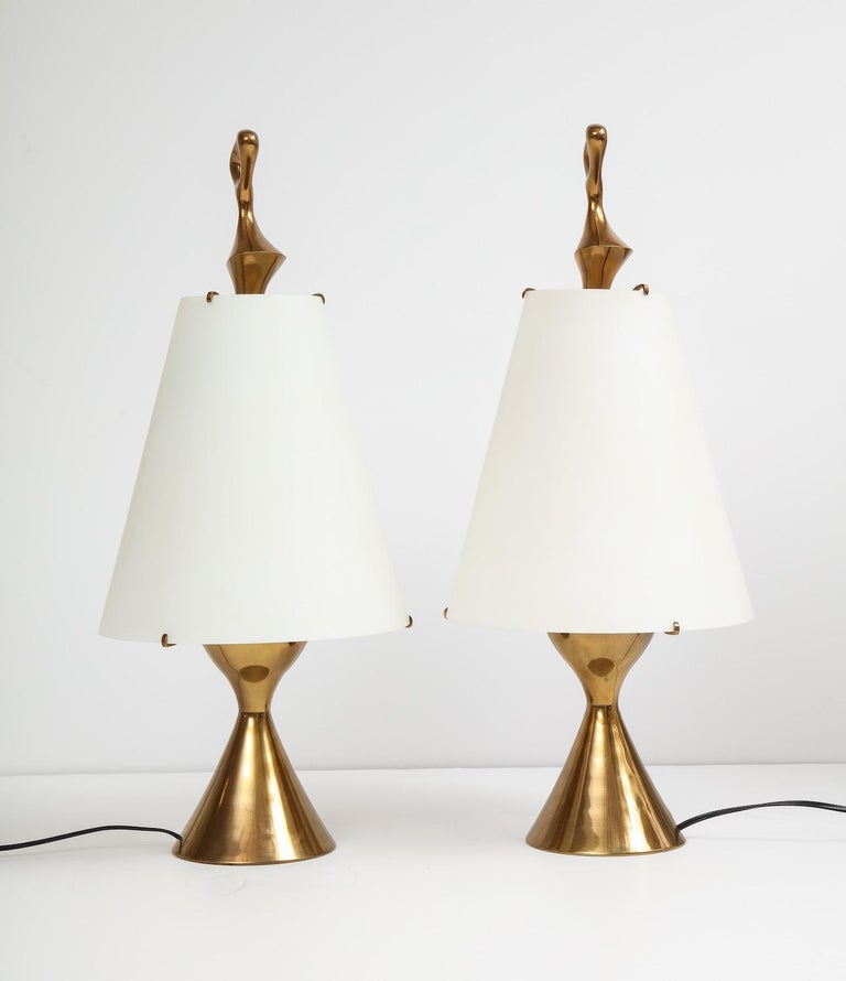 Max Ingrand Table Lamps  In Good Condition In New York, NY