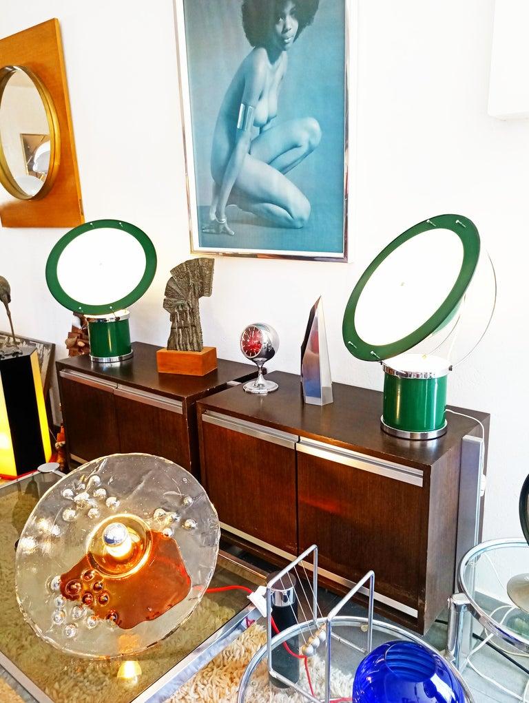 Rare Pair of the First Estiluz Table Lamp, Spain, 1970s For Sale 12