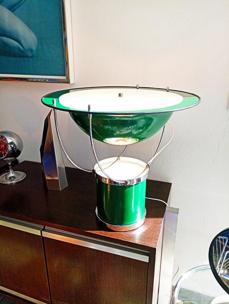 20th Century Rare Pair of the First Estiluz Table Lamp, Spain, 1970s For Sale