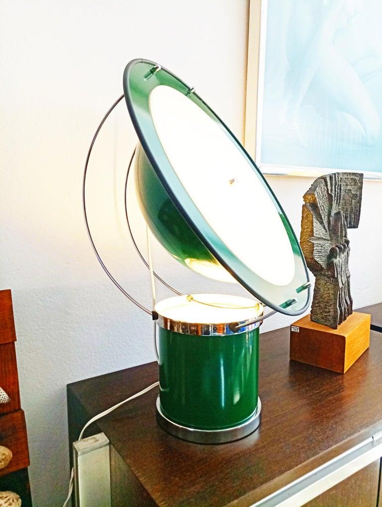 Rare Pair of the First Estiluz Table Lamp, Spain, 1970s For Sale 2
