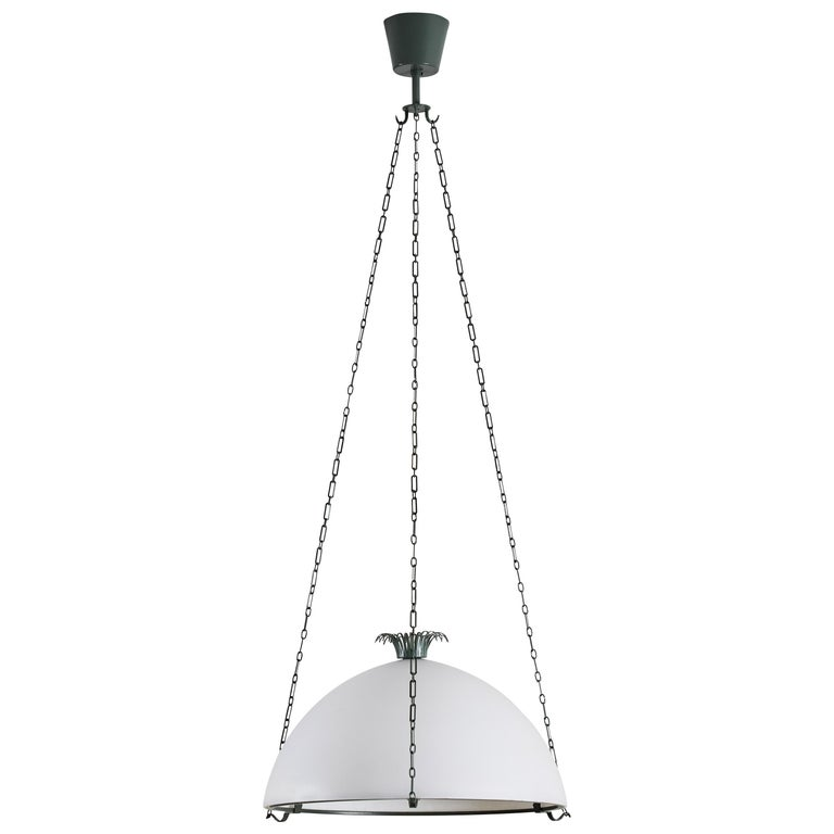 "Rare ""Parachute"" Suspension Light by Erik Gunnar Asplund For Sale"