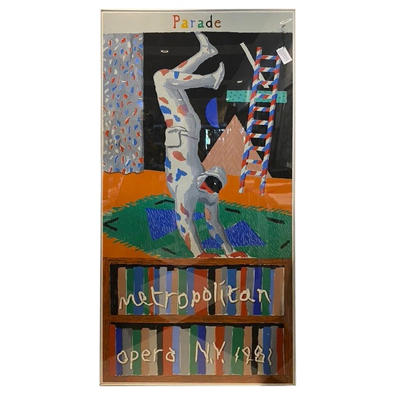 """Rare """"PARADE"""" Metropolitan Opera N.Y., 1981"""