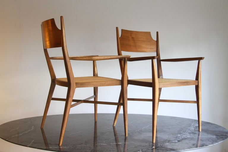 Rare Paul McCobb Armchairs In Good Condition In St. Louis, MO