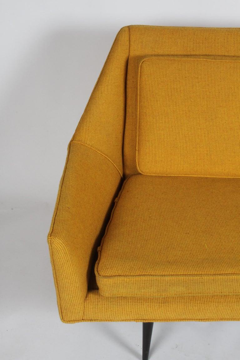 Rare Paul McCobb Cubist Sofa or Settee For Sale 3