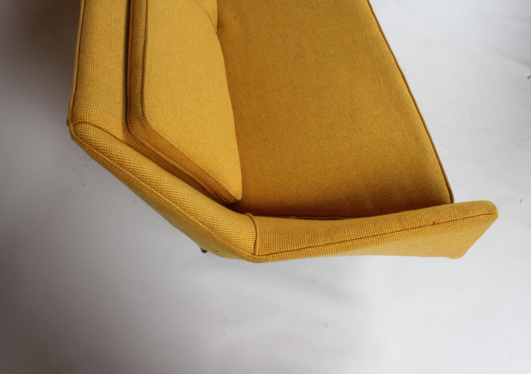 Rare Paul McCobb Cubist Sofa or Settee For Sale 5