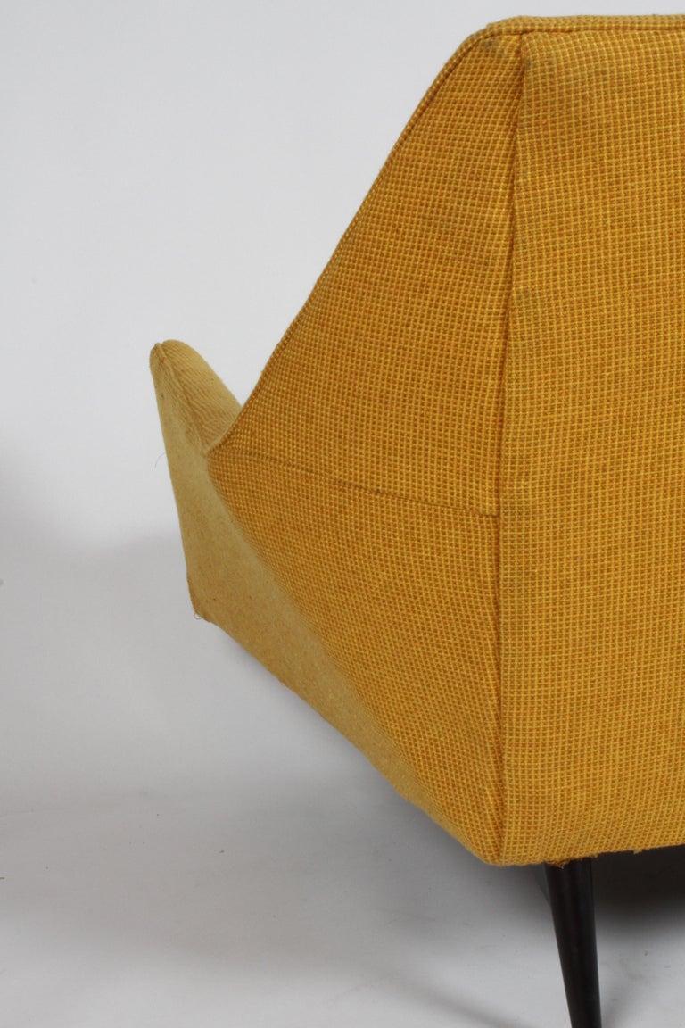Rare Paul McCobb Cubist Sofa or Settee For Sale 6