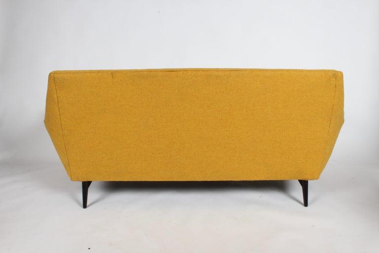 Rare Paul McCobb Cubist Sofa or Settee For Sale 1