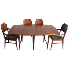 Rare Paul McCobb Dining Set Designed for Lane Furniture Company