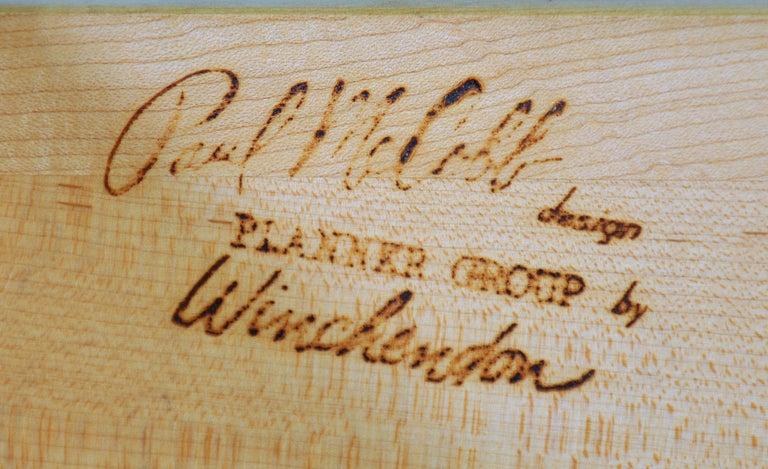 Rare Paul McCobb Drop Lid Desk Cabinet For Sale 12