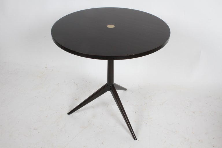 American Rare Paul McCobb Tripod Side Table Model # 70008 For Sale