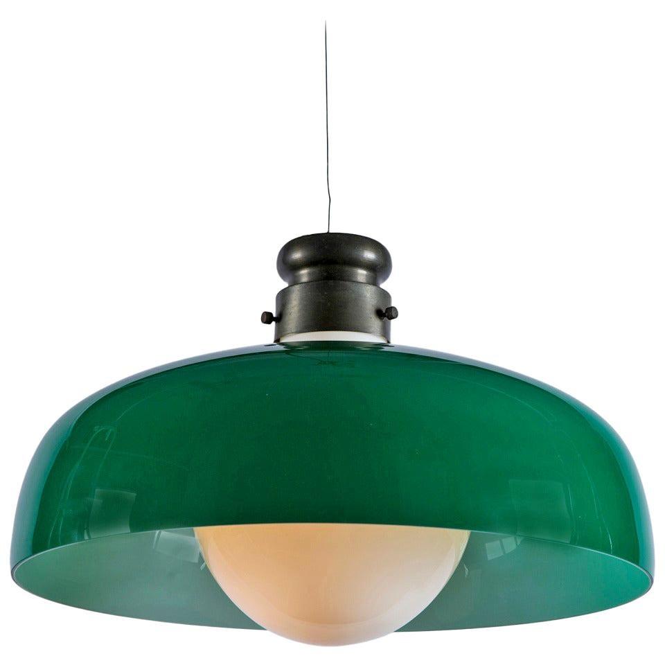 Rare Pendant Lamp by Alessandro Pianon for Vistosi
