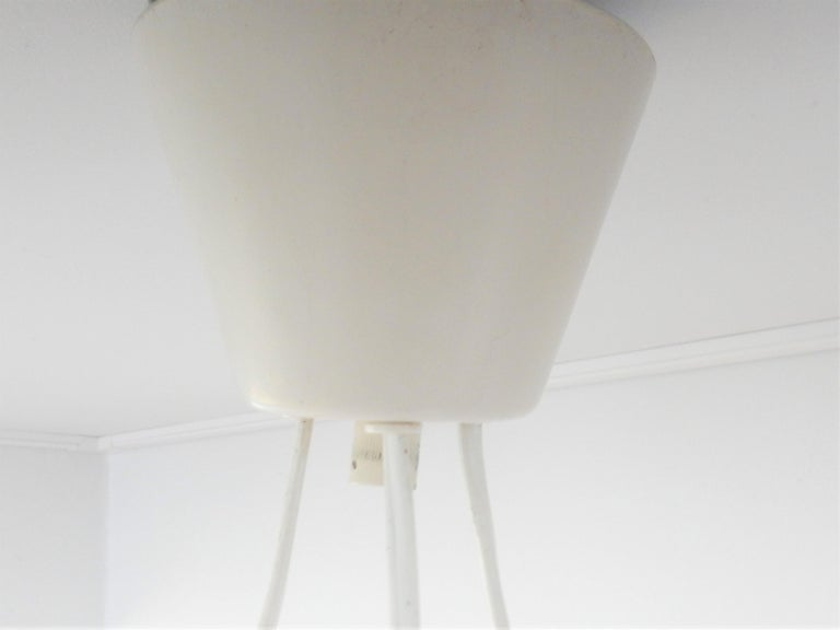 Rare Pendant Lamp by Alf Svensson for Bergboms, Sweden, 1950s In Good Condition For Sale In Steenwijk, NL