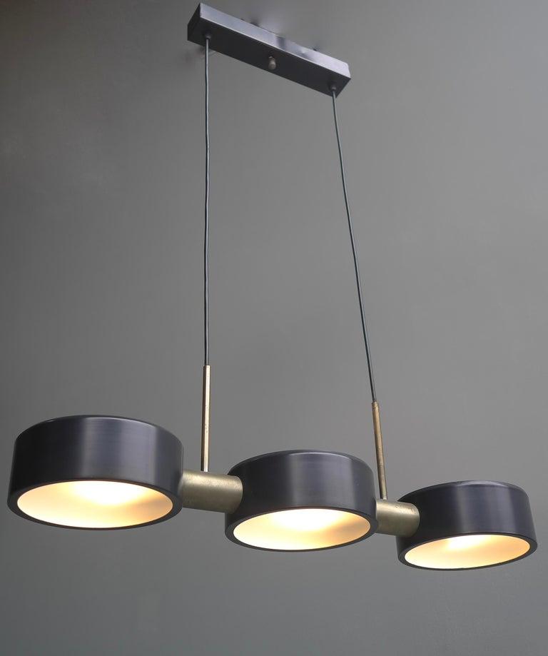 Italian Rare Pendant Light by Bruno Gatta for Stilnovo, Italy, 1960s For Sale