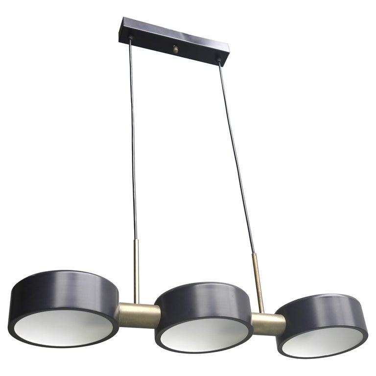 Rare Pendant Light by Bruno Gatta for Stilnovo, Italy, 1960s For Sale