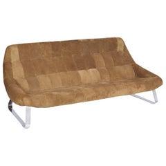 """Rare Percival Lafer Midcentury Brazilian """"Earth Chair"""" Sofa, 1976"""