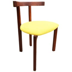 Rare Peter Hvidt T-Chair in Afromosia for France and Sons