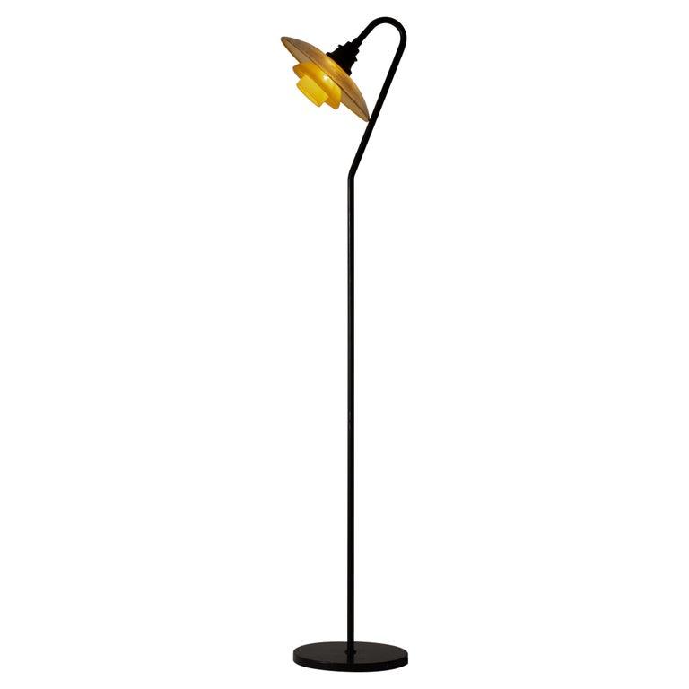 Rare PH 3/2 Floor Lamp by Poul Henningsen For Sale