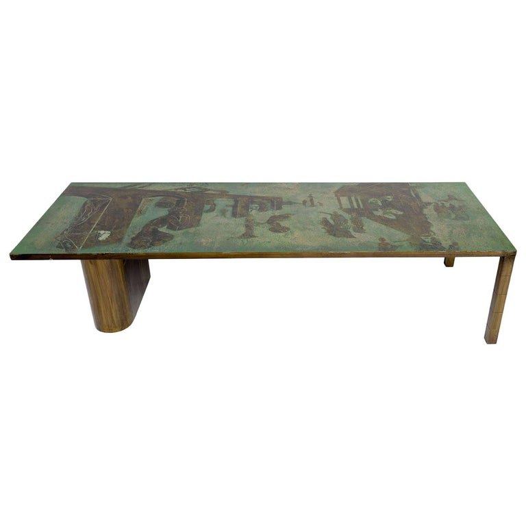 Philip and Kelvin LaVerne Salvador Dalí coffee table, 1965, offered by Galere