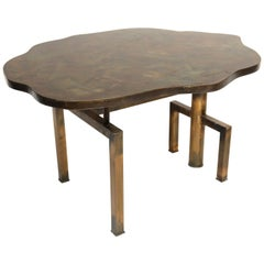 Rare Philip and Kelvin Laverne Turtle Top Table
