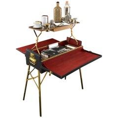 Rare Picnic Table Hamper, circa 1920
