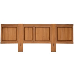 Rare Pierre Chapo Model 'R16' Sideboard in Solid Elm