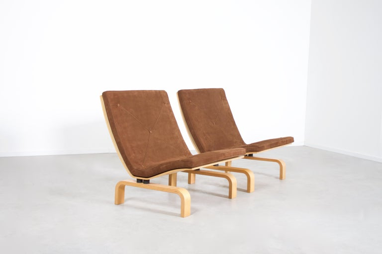 Scandinavian Modern Rare PK27 Easy Chairs by Poul Kjaerholm for E. Kold Christensen, Denmark, 1971 For Sale