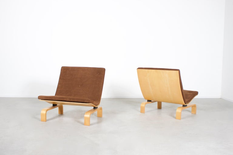 Danish Rare PK27 Easy Chairs by Poul Kjaerholm for E. Kold Christensen, Denmark, 1971 For Sale