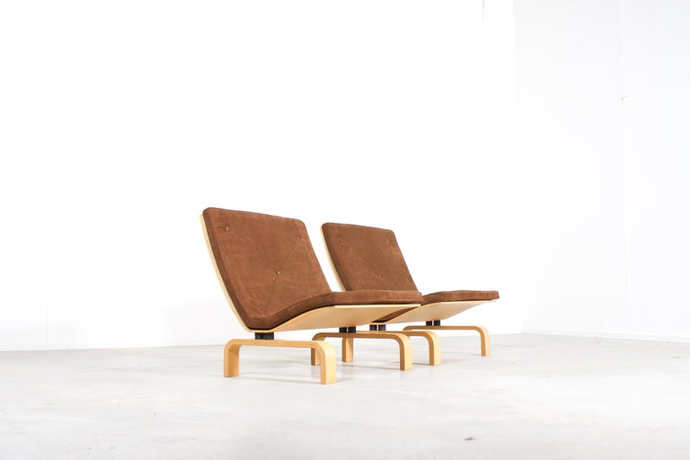 Rare PK27 Easy Chairs by Poul Kjaerholm for E. Kold Christensen, Denmark, 1971 In Excellent Condition For Sale In Echt, NL