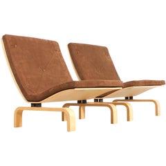 Rare PK27 Easy Chairs by Poul Kjaerholm for E. Kold Christensen, Denmark, 1971
