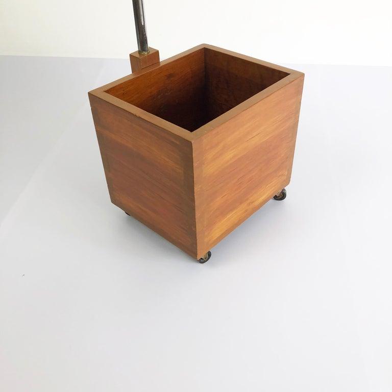 American Rare Polaroid Bauhaus Style Floor Lamp For Sale