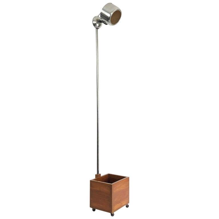 Rare Polaroid Bauhaus Style Floor Lamp For Sale