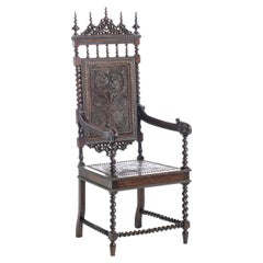 Rare Portuguese Armchair 19th Century