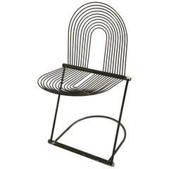 Rare Post Modern Memphis Era Chair by Herbert Ohl, 1980,s, Germany