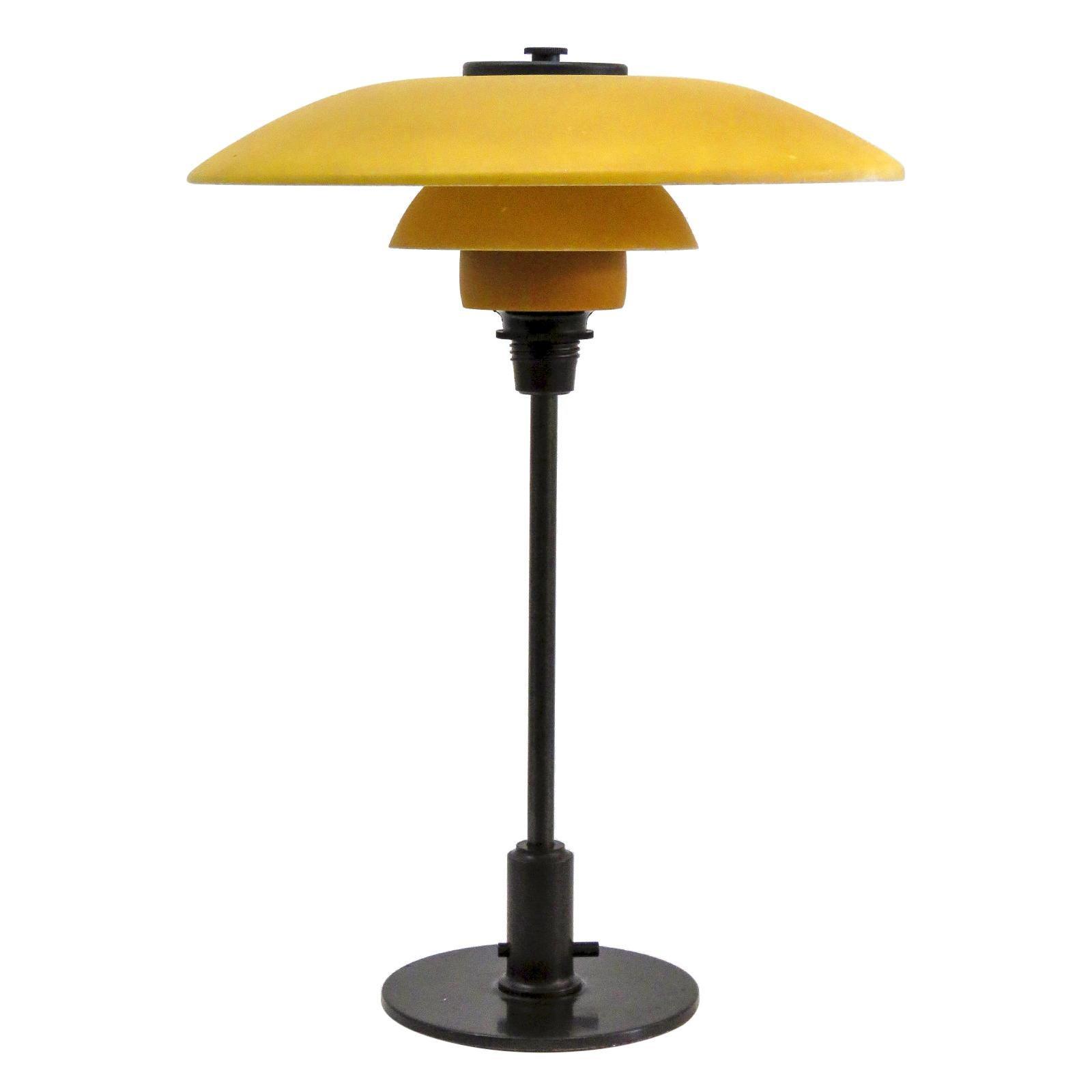 Rare Poul Henningsen PH 3½-2 Table Lamp, 1930