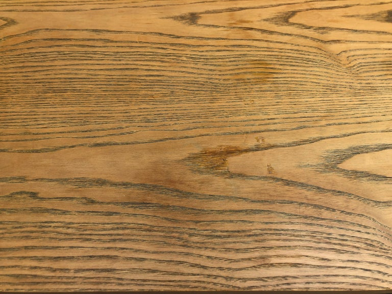 Rare Poul Kjaerholm PK59 Oak-topped Coffee Table For Sale 1