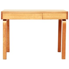 Rare Pre-War Alvar Aalto Writing Desk in Birch for Artek, 1930s, Finland