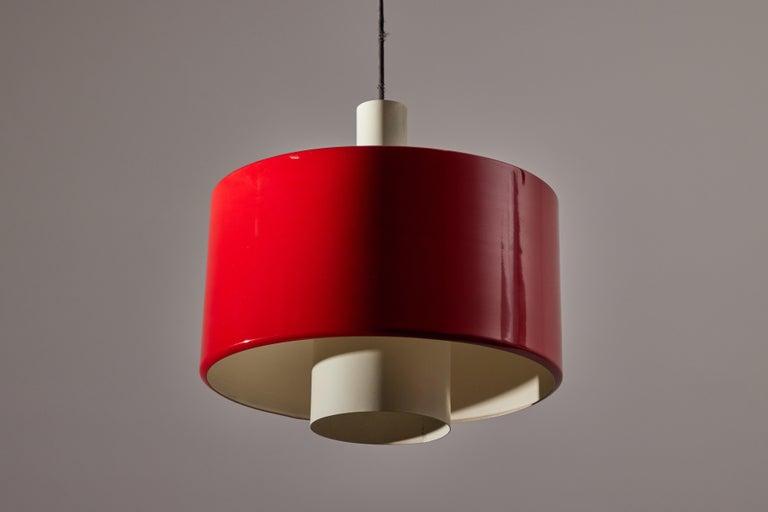 Rare Pulley Suspension Light by Gaetano Sciolari for Stilnovo For Sale 5